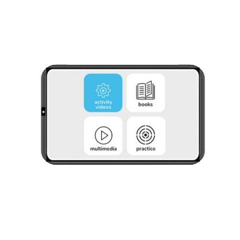 iPrep Learning tablet - Educational tablet with digital content, digital books and practice assessments for Andhra Pradesh Board