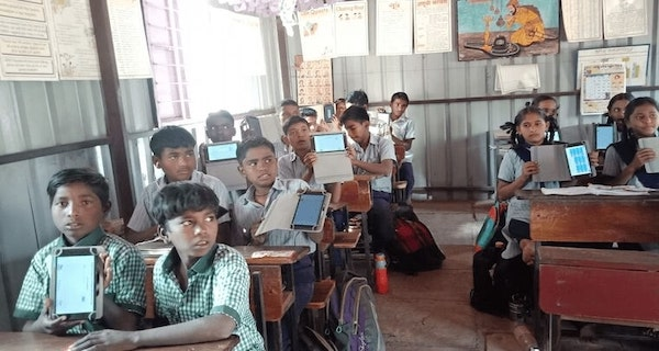 Digital Class with Tablets