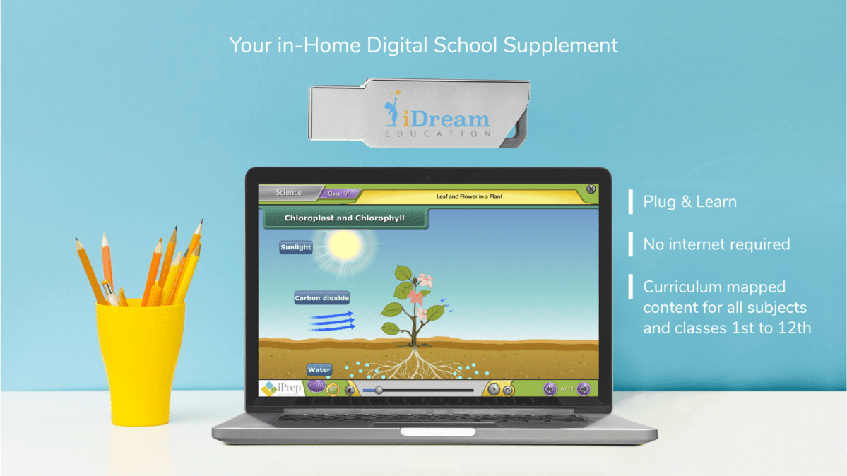 e-learning educational pendrive by iDream