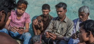 Mobile penetration in rural India