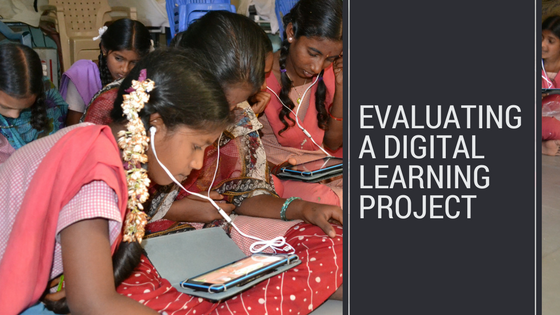 How to evaluate a digital learning project